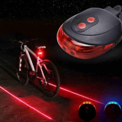 Rear Laser Light for Bicycle