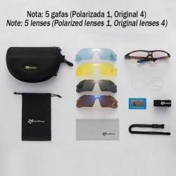 Kit Gafas Ciclismo