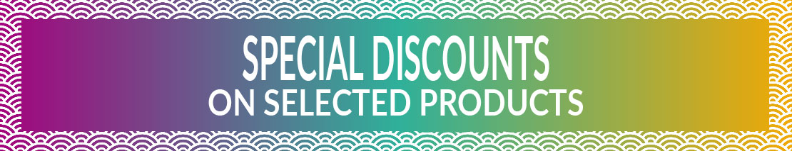 Special discounts on selected products